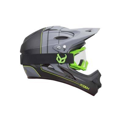 5. Demon Full Face Mountain Bike Helmet with Viper MTB Goggles