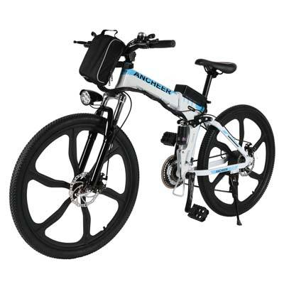 5. ANCHEER Folding Electric Mountain Bike