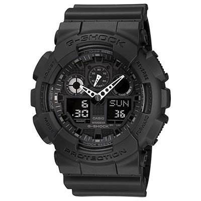 6. Casio Men's G-SHOCK Military Series Watch (The GA 100-1A1)
