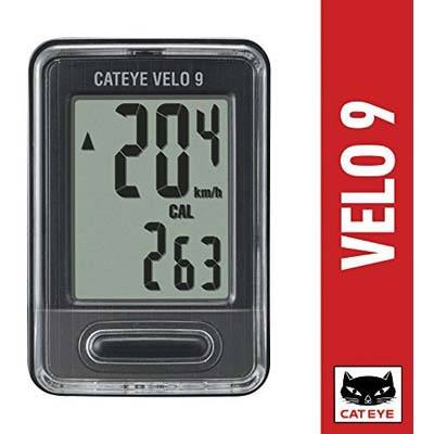 4. CAT EYE Velo 9 Wired Bike Computer