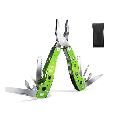 9. Jekemy Multitool, Portable Folding Pocket Knife