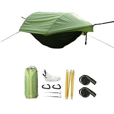 5. CreHouse Hammock Tent with Mosquito Net