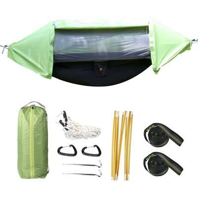 9. iMissiu 3 in 1 Hammock Tent for Camping