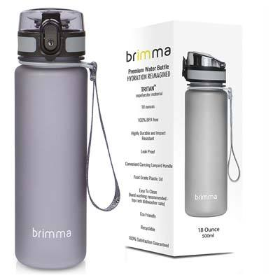 9. Brimma Premium Sports Water Bottle