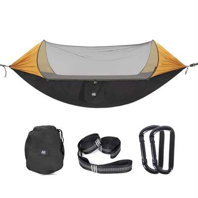 4. ETROL Upgraded 2 in 1 Large Camping Hammock