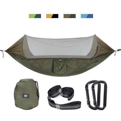 8. ETROL Upgraded 2 in 1 Large Camping Hammock with Mosquito Net