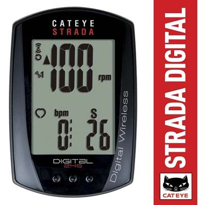 5. CAT EYE – Strada Digital Wireless Bike Computer