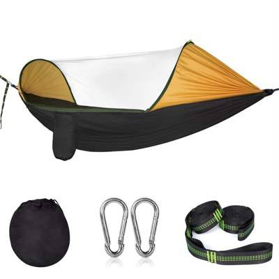 6. Cambond Camping Hammock with Mosquito Net