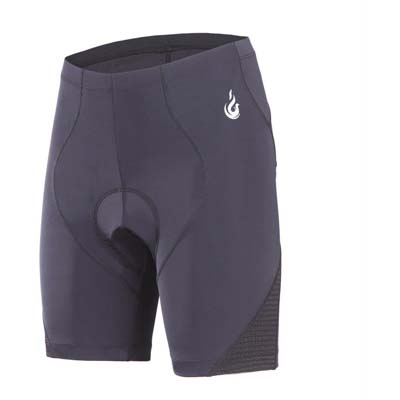 5. beroy Cycling Women's Shorts with Reflective Print