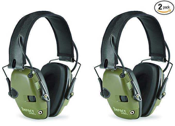 Howard Leight R-01526-PK2 Electronic Earmuff