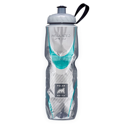 1. Polar Bottle 24oz Insulated Water Bottle
