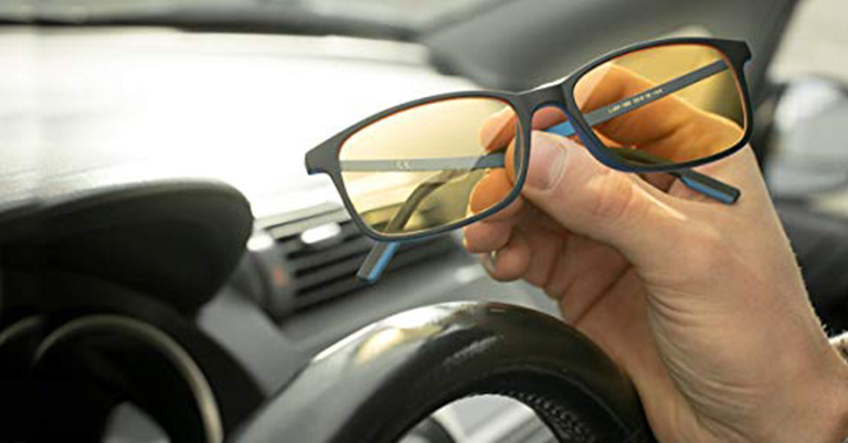 Fog Lumin Night Driving Glasses SOL Improve Road All-Weather for Rain and