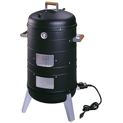 8. Americana 2 in 1 Electric Water Smoker